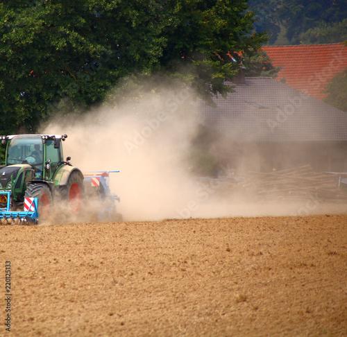 Fotografie, Obraz  trockenheit   landwirtschaft