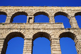 Aqueduct of Segovia, World Heritage Site of UNESCO, Spain, Europe