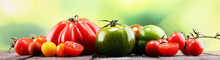 Various Colorful Tomatoes And ...