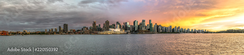 Fotomural Downtown Vancouver