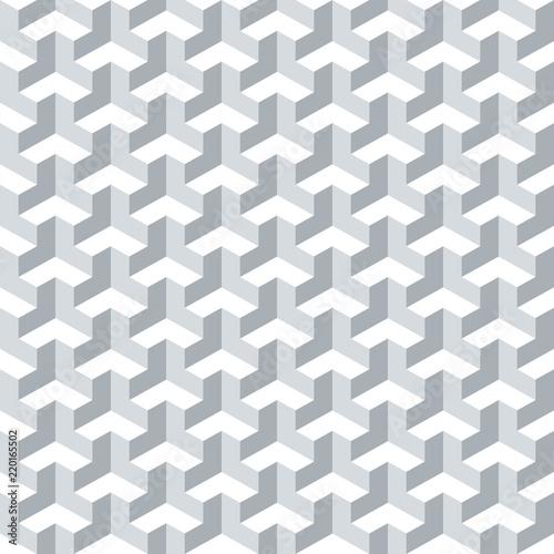 Bezszwowa abstrakcjonistyczna geometryczna isometric sześcian powierzchni wzoru tła tekstura.