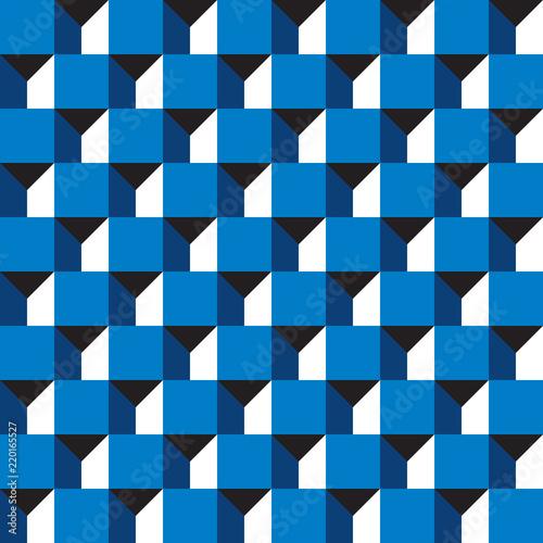 wzor-geometryczny-3d-kwadraty