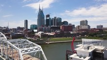 Downtown Nashville And Broadway Street 03