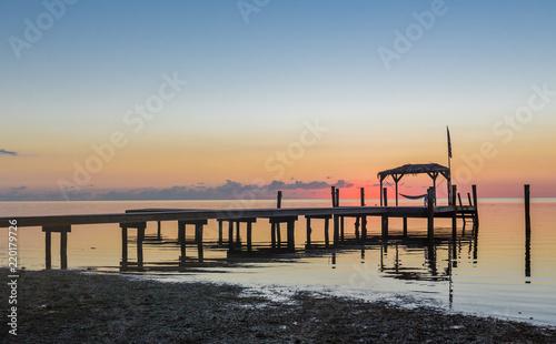 Staande foto Marokko Almost sunrise in Key west, Florida.