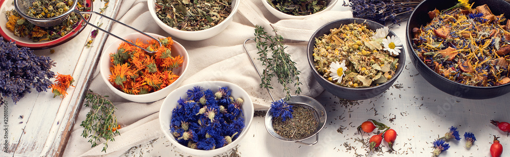 Photo  Herbal tea