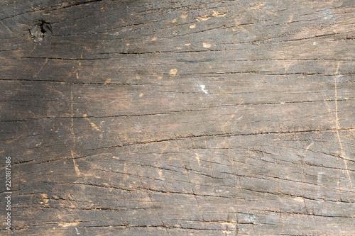 Keuken foto achterwand Schip Old brown wooden floor texture