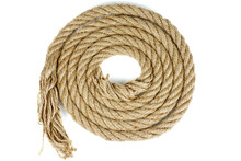 Coiled Coarse Rope