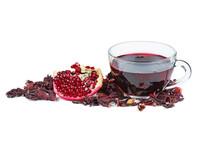 Flake And Tea Of Pomegranate O...