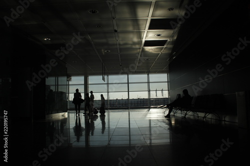 Foto op Aluminium Luchthaven Aeropuerto
