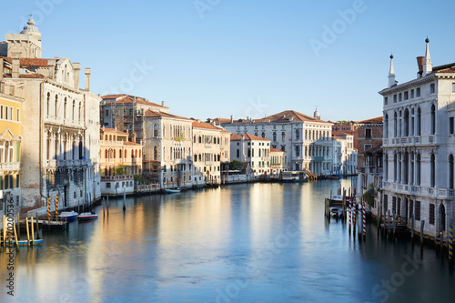 Deurstickers Centraal Europa Grand Canal in Venice, clear blue sky in a summer morning in Italy