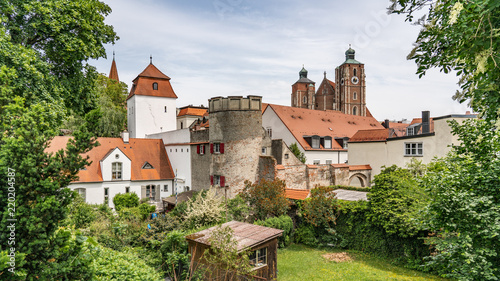 Germany, Ingolstadt, city view and buildings