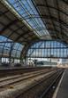 Inside Amsterdam Central Station