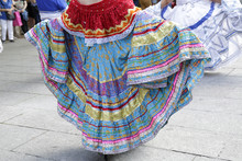 Woman Wearing One Of The Tradi...