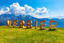 Summer In Verbier, Alps Mounta...