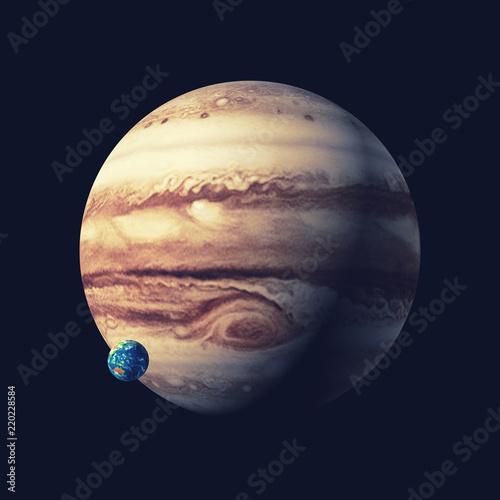 Photo  The jupiter planet.