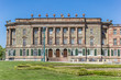 Side wing of the historic castle in the Bergpark of Kassel, Germany