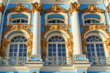 Detail Of Catherine Palace In ...