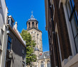View on Lebuinis church in old town Deventer, Netherlands