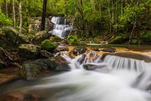 Hin Sam Chan Waterfall, Beauti...
