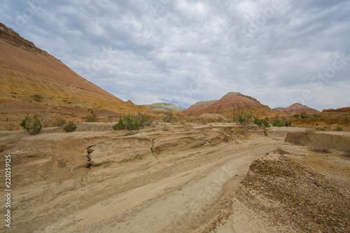 sandy mountains, national park in Kazakhstan