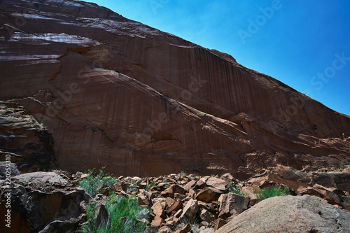 Waterfalls in Coyote Gulch, Escalante National Monument and Glen Canyon National Recreation area