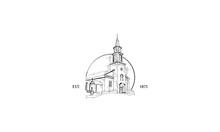 Christian Church Vintage Vecto...