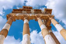 Ruins Of The Roman Temple Capi...