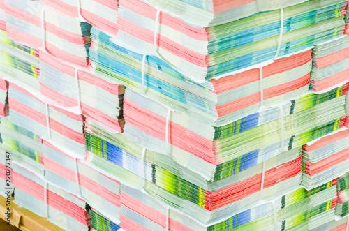 Fotografía  Bundled Brochures