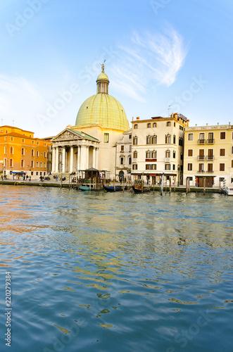 Fotografie, Obraz  Canal Grande at San Simeone Piccolo, Venice, Italy
