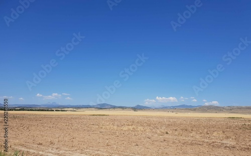 Fotografia, Obraz  Horizon with Clear Mountains