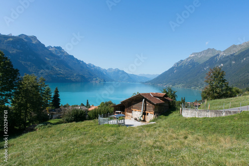 Photo Stands Europa Brienz lake