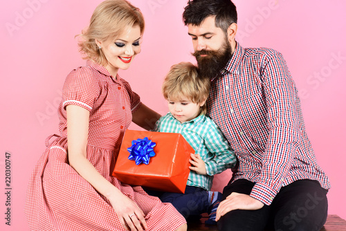Birthday Gifts For Kids Little Son With His Family Holidays Present Childhood