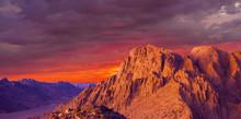 Mount Sinai, Mount Moses In Eg...