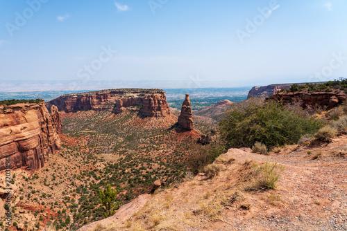 Foto op Aluminium Zalm rocky mountain canyon