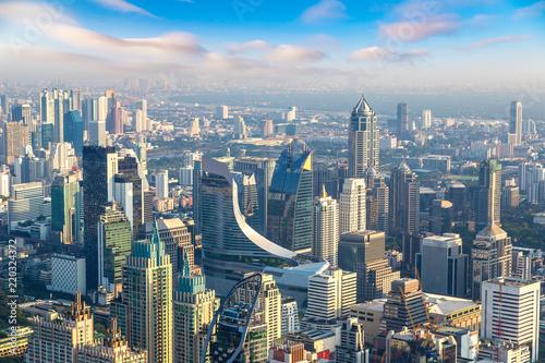 Tuinposter Aerial view of Bangkok