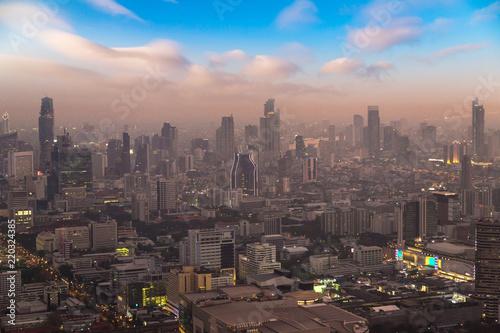 Fotobehang Midden Oosten Aerial view of Bangkok