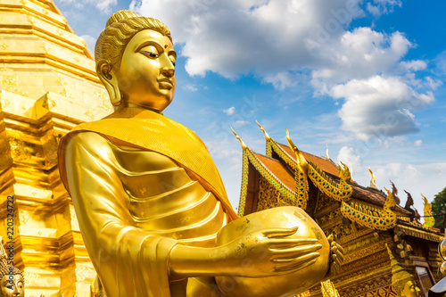 Foto  \Wat Phra That Doi Suthep in Chiang Mai