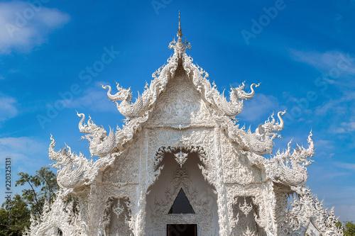 Spoed Foto op Canvas Bedehuis White Temple (Wat Rong Khun) in Chiang Rai