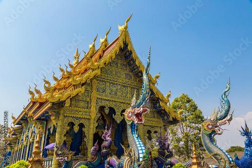 Wall Murals Temple Wat Rong Sua Ten in Chiang Rai
