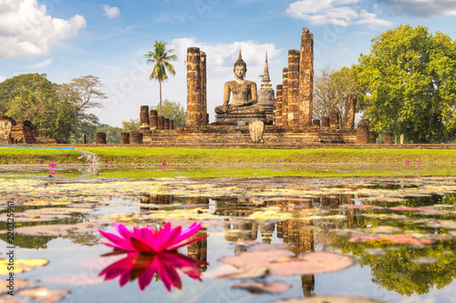 Fotografie, Obraz  Sukhothai historical park