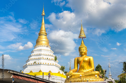 In de dag Bedehuis Buddhists temple in Chiang Mai