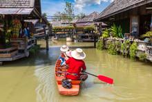 Floating Market In Pattaya