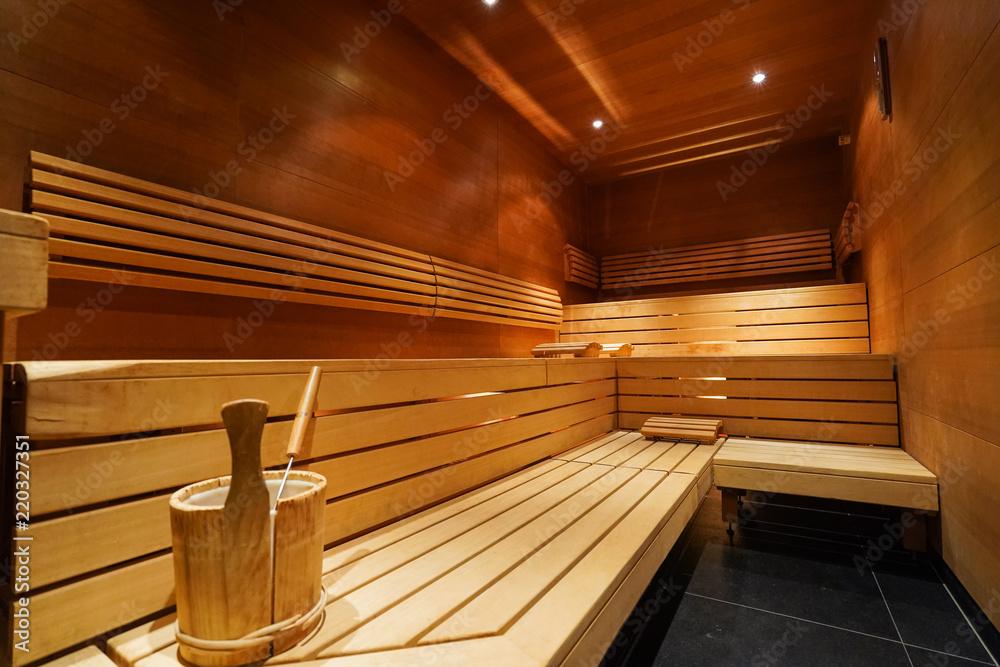 Fototapeta sauna warm image