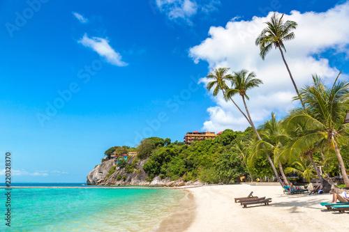 Photo  Leela beach on Phangan island,