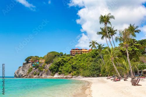 фотография Leela beach on Phangan island,