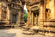 Preah Ko Temple In Angkor Wat