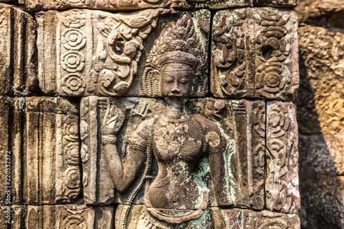 Banteay Kdei temple in Angkor Wat Wallpaper Mural