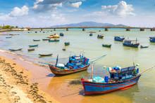 Fishing Boats In Nha Trang, Vi...