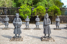 Tomb Of Khai Dinh In Hue, Vietnam