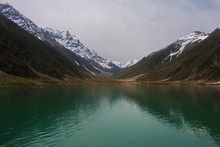 Beautiful View Of Lake Saif Al Maluk In Naran Valley